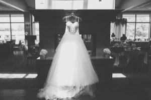 Wedding Gown (Black & White photo)