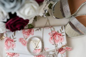 Guess Purse with Wedding Attire